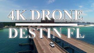 4k CINEMATIC DRONE FOOTAGE DESTIN FLORIDA CRAB ISLAND DJI  PHANTHOM4PRO+  polar pro dji