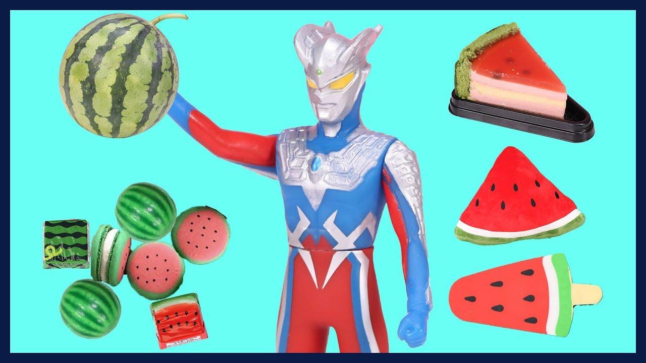 神奇的西瓜零食!西瓜蛋糕超級好吃~!|  伶可寶貝