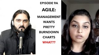 Episode 9A: Management wants pretty Burndown Charts? Agile Talks