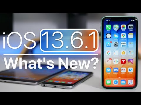 iOS 13.6.1 is Out! – What's New?