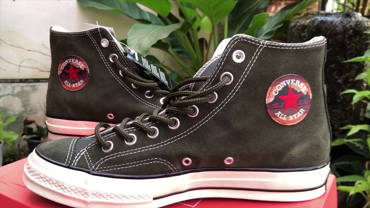 9beb6a25c928 Unboxing Converse Chuck 70 Suede High Top - YouTube
