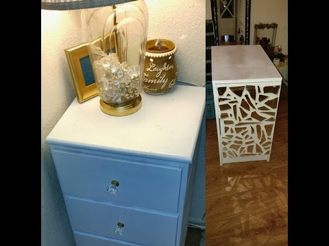 DIY Easy Cheap Nightstand Makeover