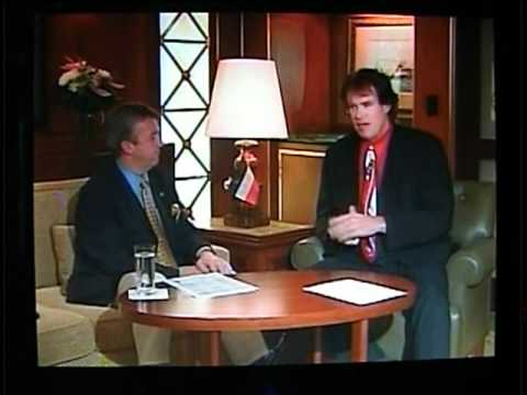 Cunard Entertainment Director Alastair Greener interviews Greg Sampson