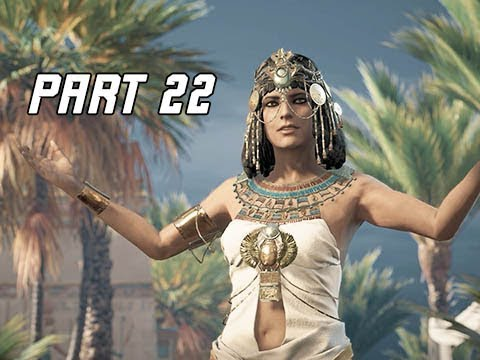ASSASSIN'S CREED ORIGINS Walkthrough Part 22 - Memphis (PC Ultra Let's Play Commentary)