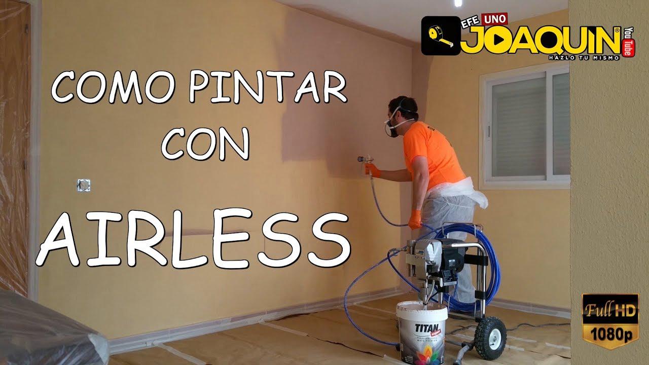 Como pintar interiores con airless paso a paso techos - Como pintar techos ...