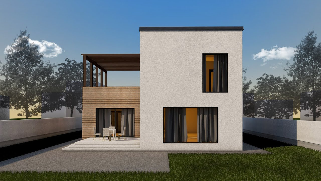 Proiect casa arya p e 3 camere 185 mp youtube for Proiect casa 100 mp fara etaj