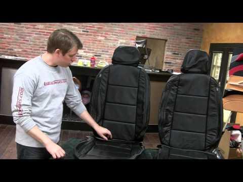2010+ VolksWagen Jetta Sedan Leather Interior upholstery Upgrade kit - www.LeatherSeats.com