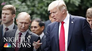 President Donald Trump Blasts Russia Investigation In UK Remarks | NBC Nightly News