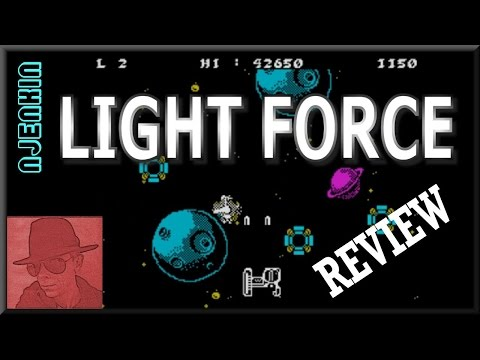 Light Force - on the ZX Spectrum 48K !! with Commentary