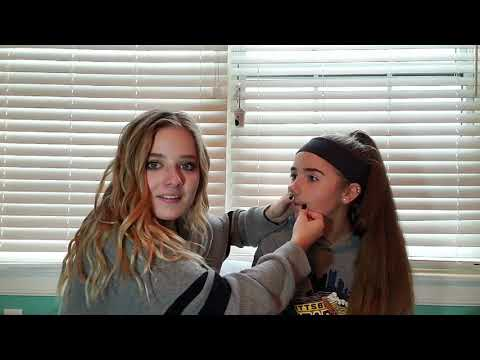 Waxing My Sister's Mustache for the First Time! Jackie Evancho + Rachel Evancho