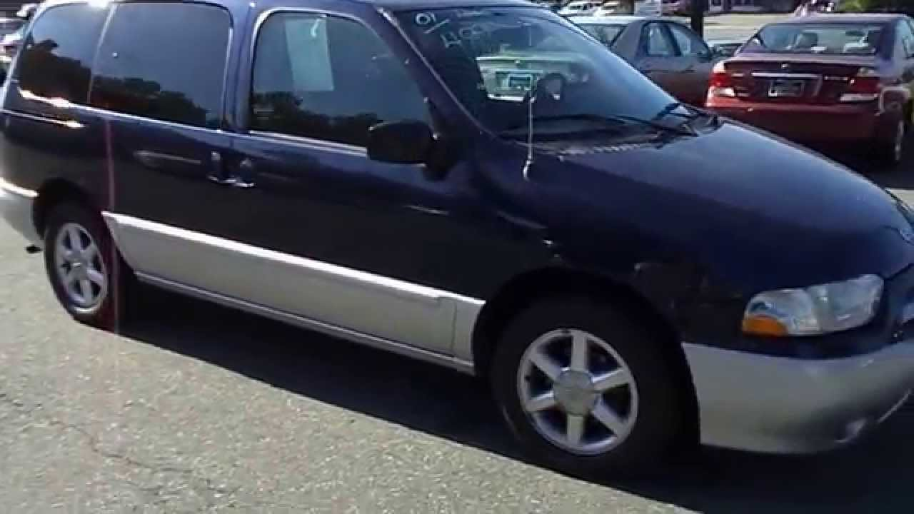 2001 Nissan Quest Loaded