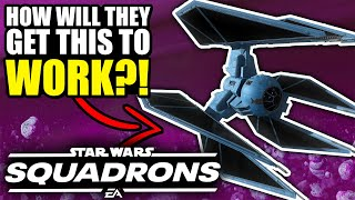 How will the TIE DEFENDER work in Star Wars Squadrons?!
