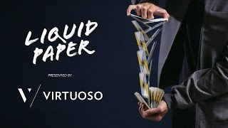cardistry virtuoso liquid paper feat the ss16 virtuoso deck