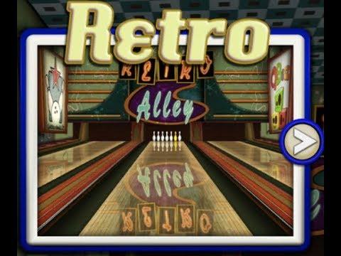 Gutterball Golden Pin Bowling Gameplay (Retro)