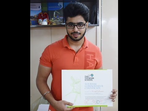 Tourism School student Running Travel Agency & doing job also Akshay Aneja