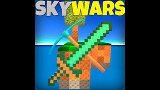 Roblox on the Sky Wars Map I have diamond armor