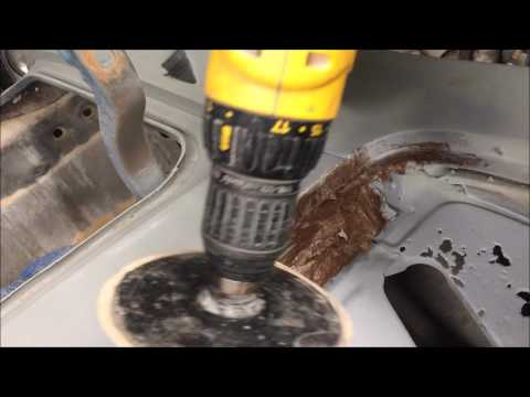 auto bodywork for beginners controversial rust repair with fiberglass bondo  how to DIY chevelle