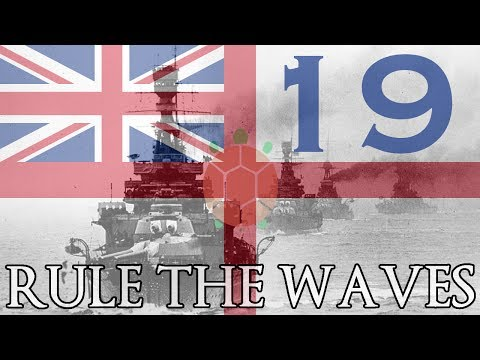 Rule the Waves | Let's Play Britain - 19 - Fleets Collide (Part 3)