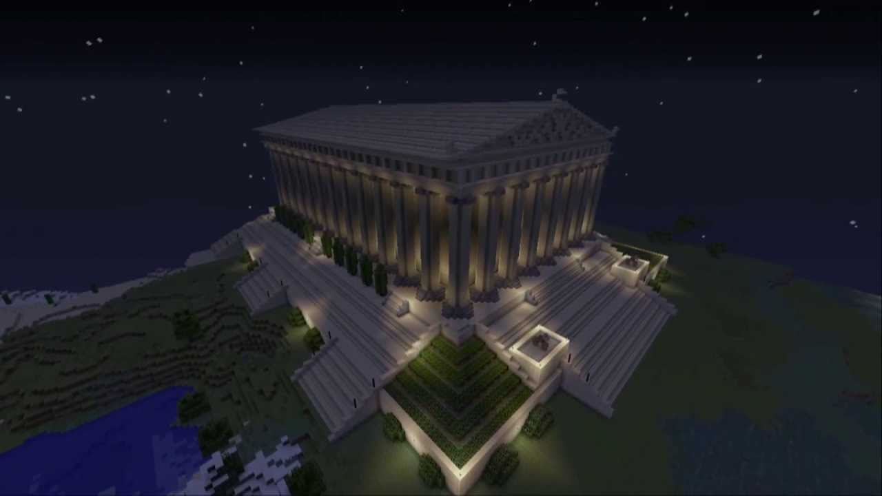 epic minecraft wonders of the world epic minecraft 7 wonders of the world