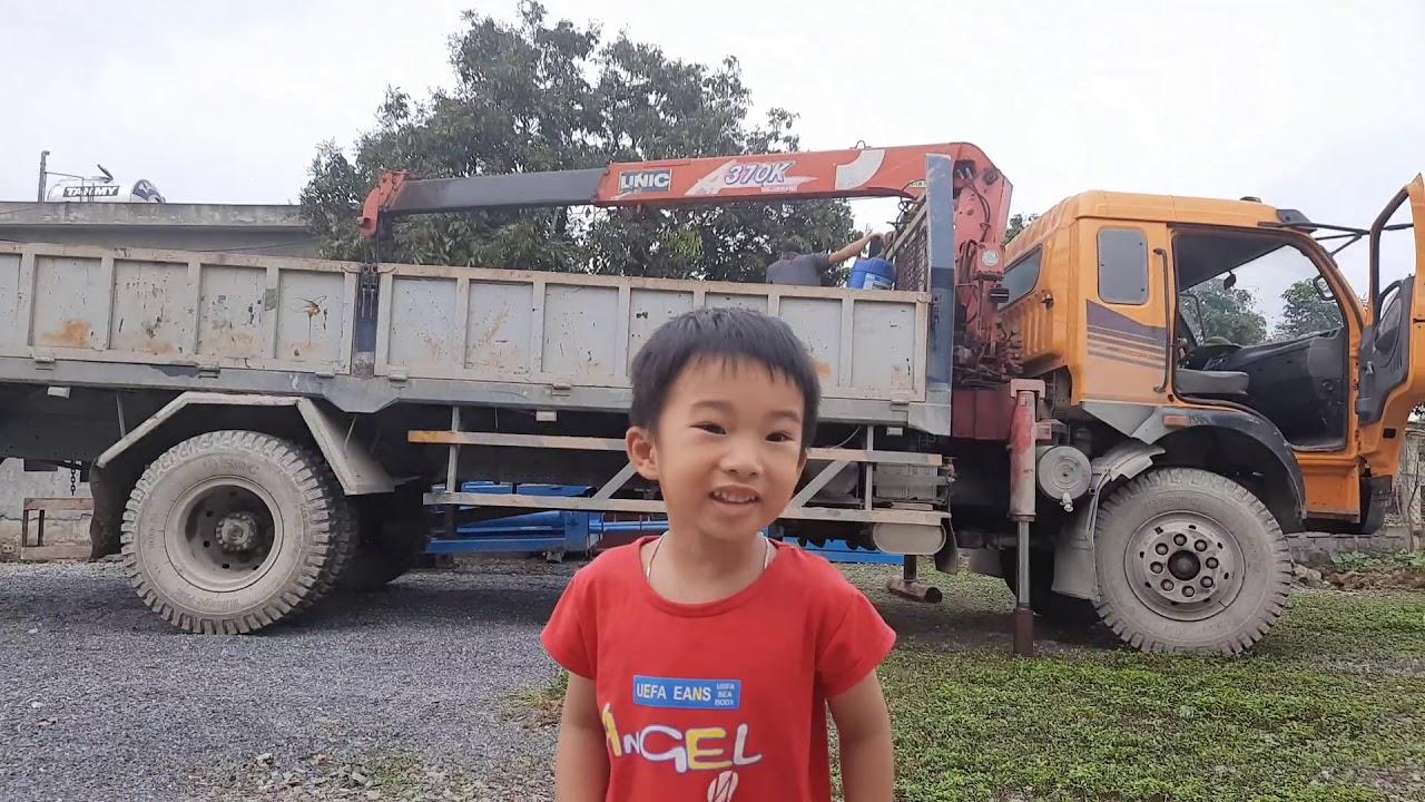 Máy cẩu làm việc| đồ chơi trẻ em| siro kids tv