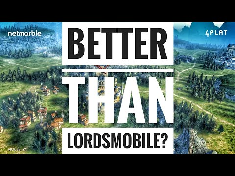 First Born: Kindgom Come (Iron Throne) - Better Than Lords Mobile?!?