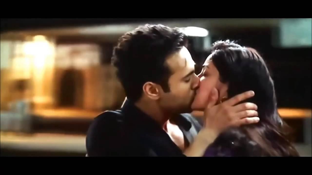 Kissing video