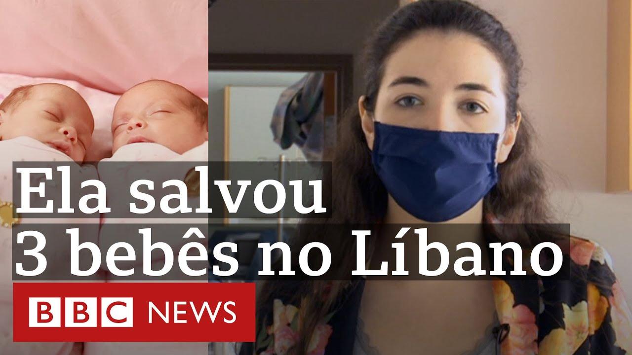 Explosão no Líbano: como enfermeira salvou 3 bebês prematuros de hospital atingido em Beirute