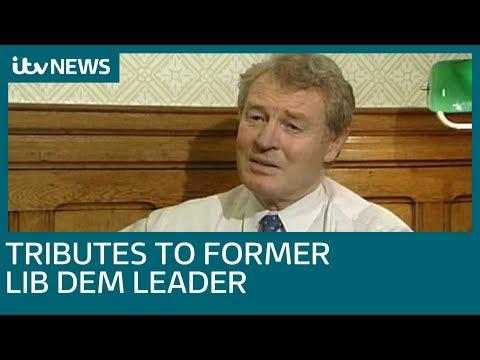 Former Liberal Democrats leader Paddy Ashdown dies aged 77 | ITV News