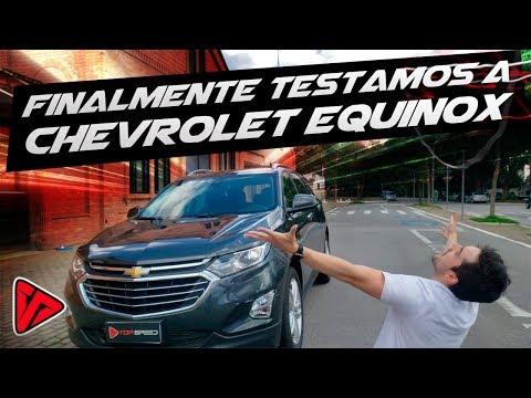Chevrolet Equinox Premier!  Finalmente testamos o carro mais pedido no canal    Top Speed
