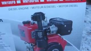 Дизельний ДНІПРО МТ 9. Частина 1. Розпакування нового двигуна WEIMA