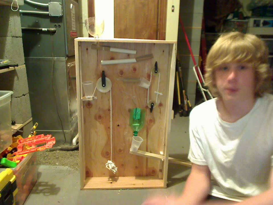 easy rube goldberg projects Rube goldberg project physics 2009 overview: in this project, you will demonstrate your knowledge of principles in physics by designing, creating, and explaining a.