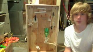 Finished rube Goldberg Machine