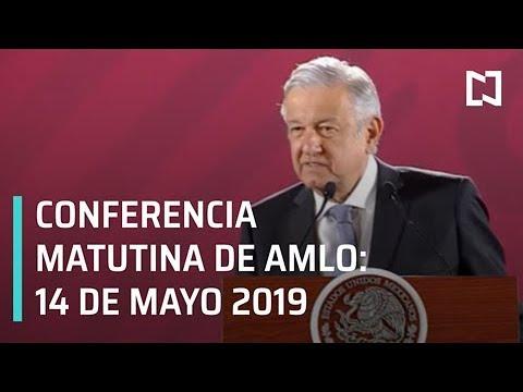 Conferencia matutina AMLO -14 de mayo