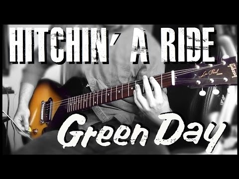 Green Day - Hitchin' A Ride cover (Billie Joe Armstrong Gibson Les Paul Jr.)