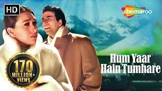 Download Hum Yaar Hain Tumhare (Female) | Haan Maine Bhi Pyaar Kiya | Abhishek Bachchan | Karishma Kapoor Mp3 and Videos