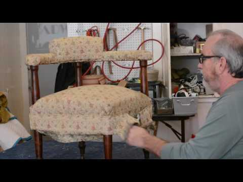 Designing an Upholstery Project with a Client