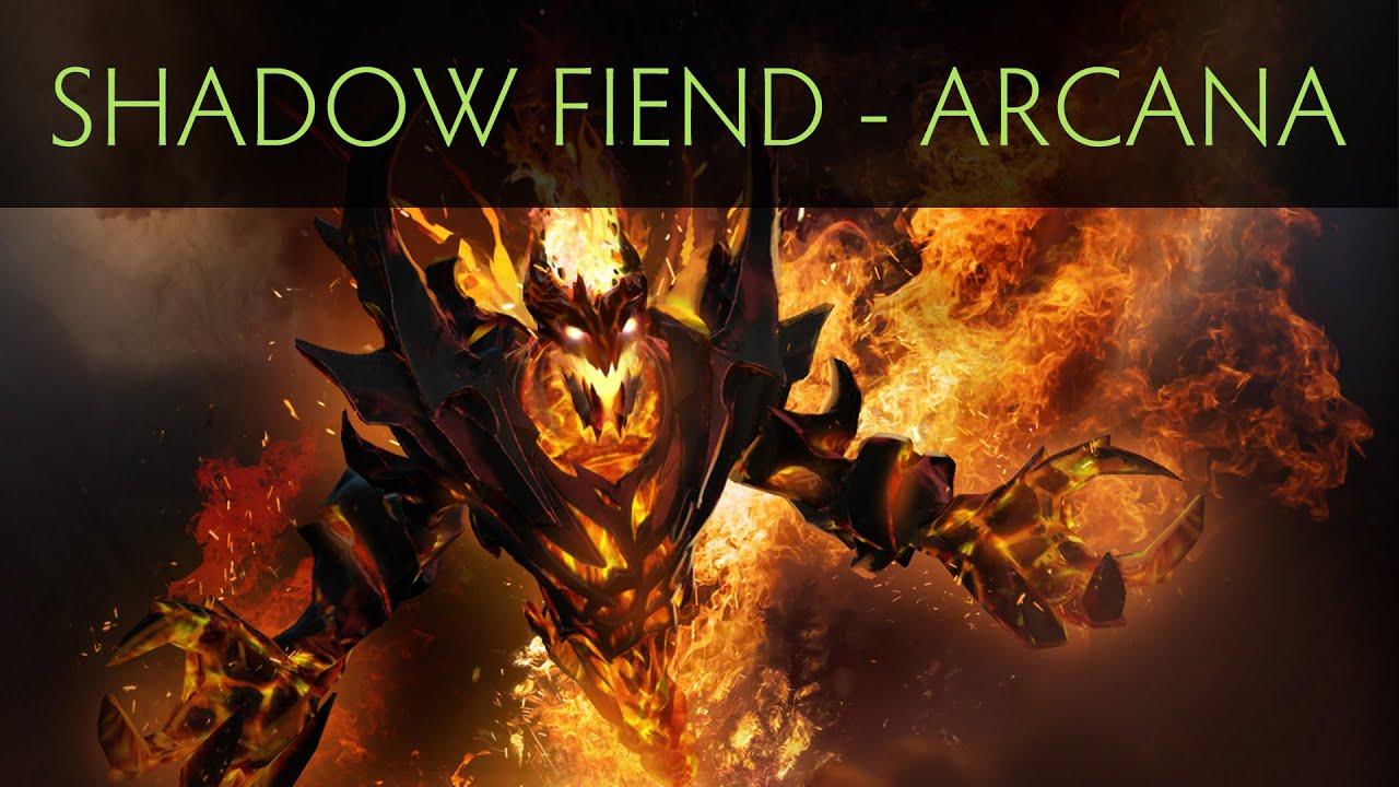 Dota 2 Arcana: Demon Eater (Arcana Item)