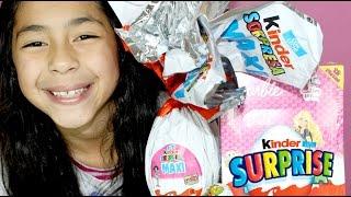 KINDER SURPRISE EGGS GIANT SURPRISE EGG  Barbie Kinder Surprise Eggs B2cutecupcakes