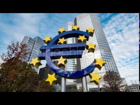 Euro Symbol Frankfurt Germany 1 - Stock Footage | VideoHive 13565115