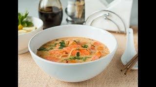 Суп из лосося уха голова и хвост