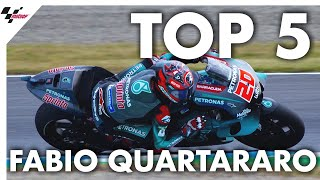 Fabio Quartararo's Top 5 Moments from 2019