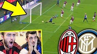 Milan Inter 0-0 LIVE REACTION (Che Goal Sbagliato di ICARDI) DERBY DI MILANO