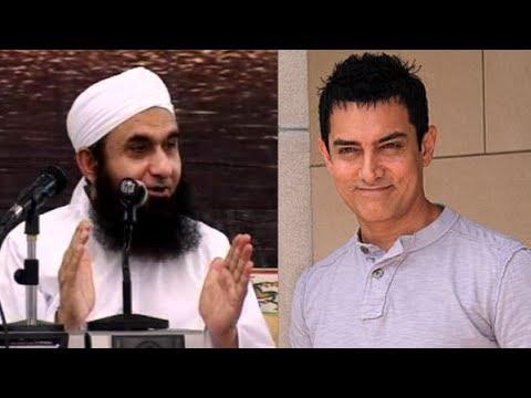 [Original] When Aamir Khan met Maulana Tariq Jameel at Hajj 2012