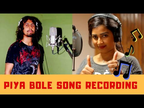 Piya Bole Song Recording | Sonu Nigam, Shreya Ghoshal, Saif Ali Khan, Vindu Vinod Chopra | Parineeta Mp3