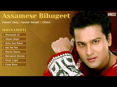Popular Assamese Folk Songs | Bihu Songs | Zubeen Garg | Moinamoti