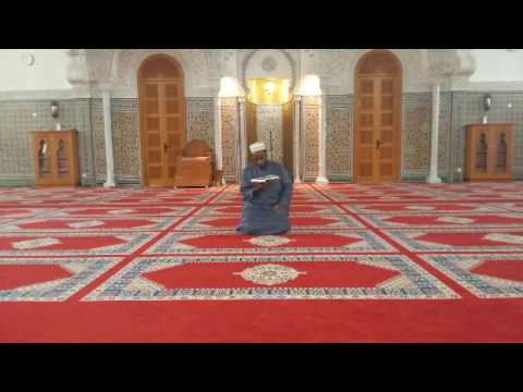 la prière de tarawih Grande Mosquée Mohammed VI de Saint-Etienne (01)