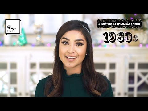 60s Hairstyle - Half Up Beehive Hair for the Holidays | All Things Hair