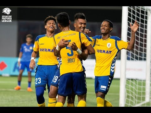 2018 Singapore Premier League: Tampines Rovers FC 4-0 Hougang United FC