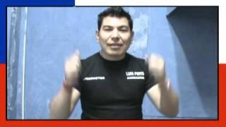 Luis pinto saluda a chile