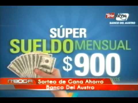 Sorteo de Gana Ahorro Banco Del Austro